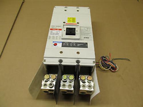 1 CUTLER HAMMER CNDC CNDC312T36W 1200 AMP 600 VAC WITH RMS 310 TRIP UNIT