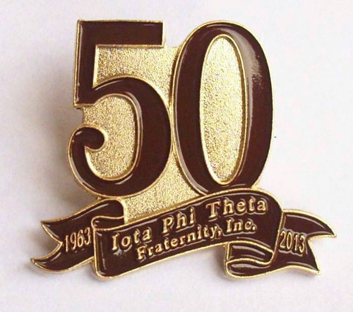 50th Iota Pin