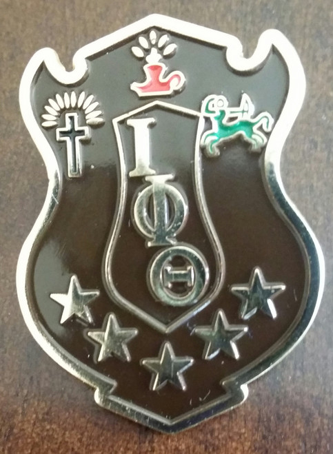Iota Shield Pin