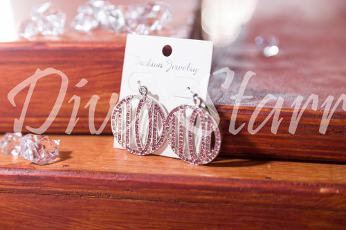 TLOD Pink Bling Earrings