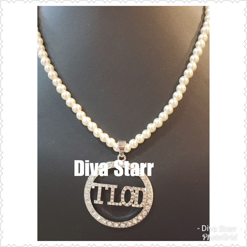 TLOD Pearl & Bling Necklace