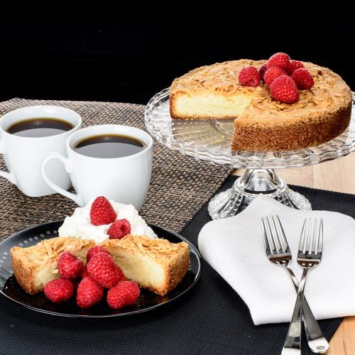 Two Individually Artisanal Almond Cakes