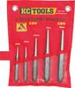 KC Tools 5pce Heavy Duty Centre Punch Set