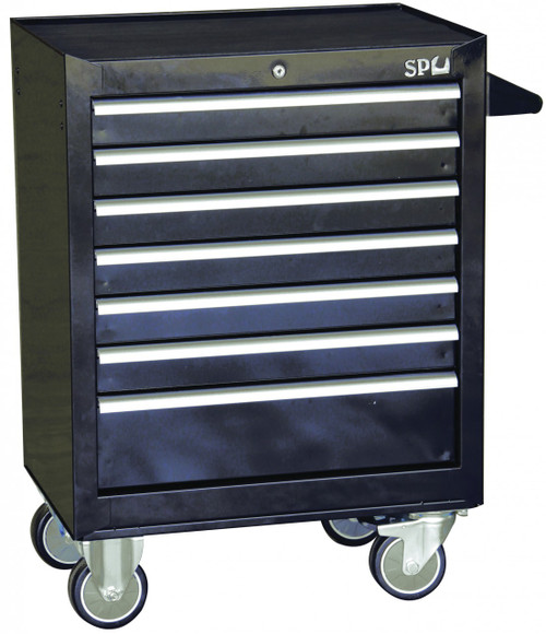 SP Tools 7 Drawer 668mm Custom Series Tool Cabinet SP40104