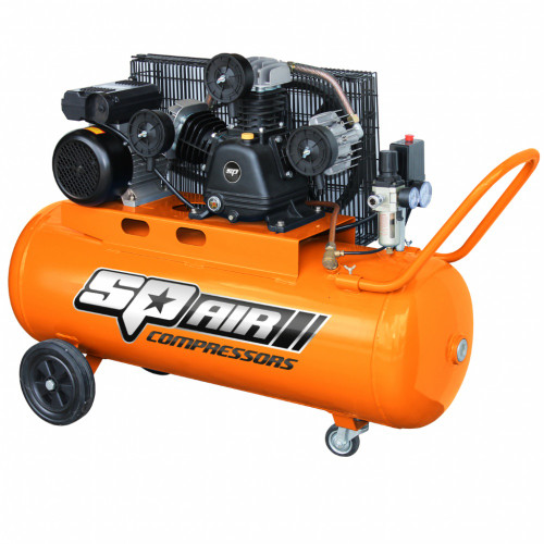 SP INDUSTRIAL 3HP TRIPLE CAST IRON PORTABLE AIR COMPRESSOR