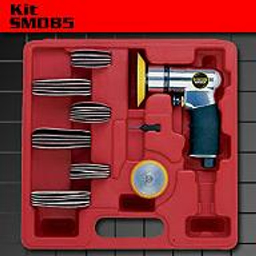 KC AIR 64PCE MINI ORBITAL SANDER KIT SM085