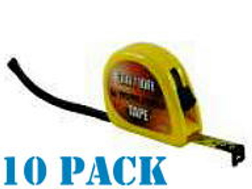 Medalist 10 Pack 3m/ 10ft Locking Measuring Tape