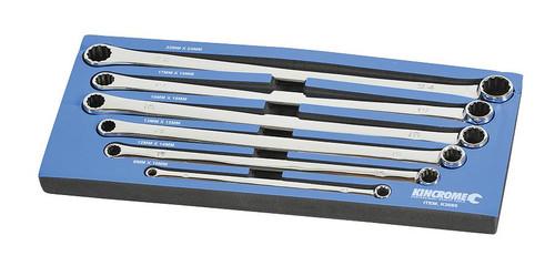 Kincrome EVA Tray Spanner Set Zero Degree Offset 6 Piece Metric K3065