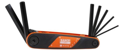 Bahco Hex Key Set 7 pce BE9777B