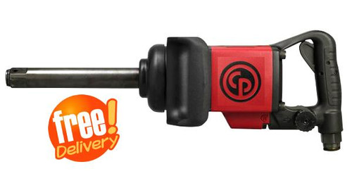 "Chicago Pneumatic 1"" 2900Nm D Handle Extended Anvil Impact Wrench"