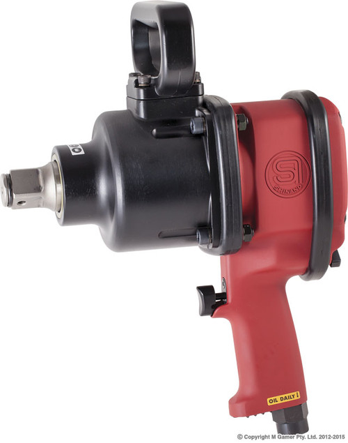 SHINANO 1840 Ft Lb 1″ PISTOL GRIP IMPACT WRENCH