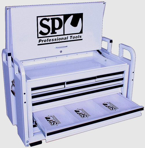 SP40321 SP Super Duty Off Road Field Service Tool Box Large Diamond White SP40321