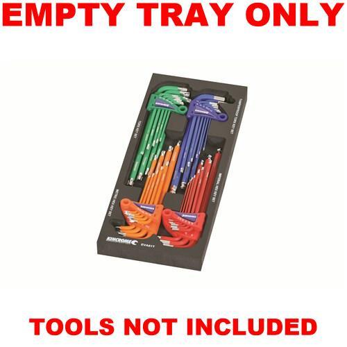 Kincrome EMPTY EVA Tray For Hex & Torx Key EVA61ET