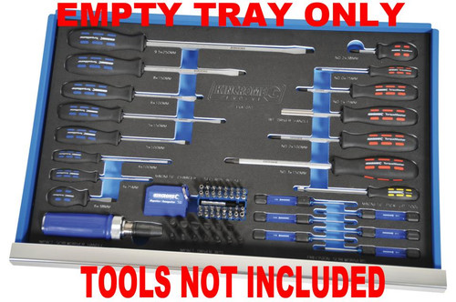 Kincrome EVA EMPTY TRAY For Screwdrivers & Fasteners Evolve EVA105ET