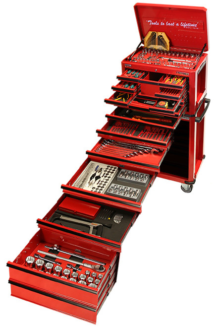 ATK523DBB 523 PIECE COMBINATION BOX & ROLL CABINET TOOL KIT