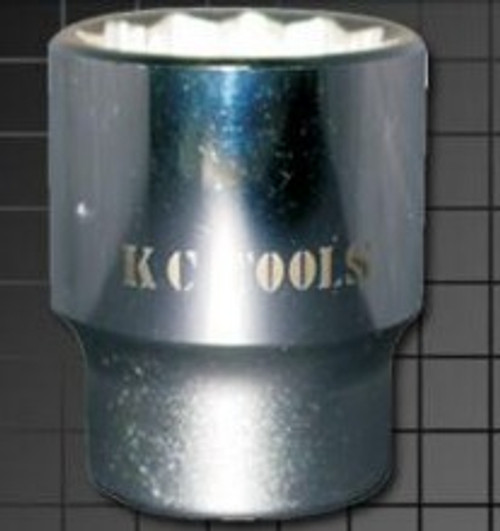 "KC TOOLS 1"" DVE SHALLOW SOCKET 65mm."