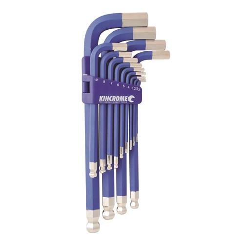 K5092 Kincrome 13 Piece Metric Jumbo Hex Key Wrench Set