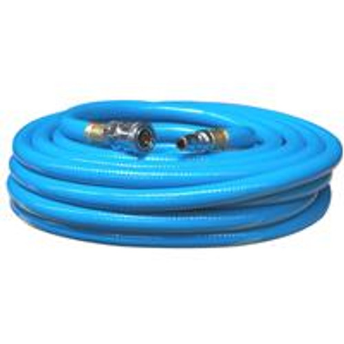 "Scorpion Hose 15M With Fitted Ends Blue 3/8"" Diameter"