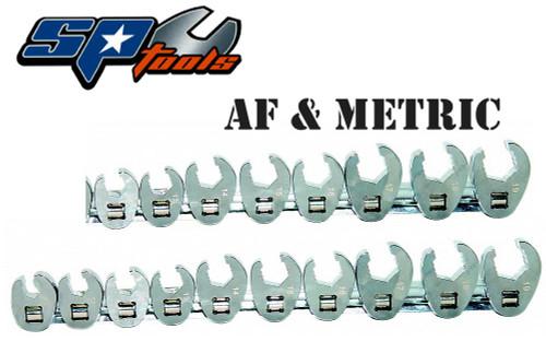 SP Tools Ultimate 3/8 Drive Flare Crowfoot Spanner Set AF/MM