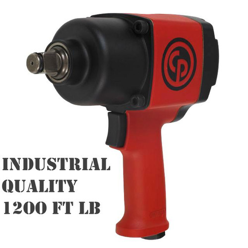 "CP6763 Chicago Pneumatic Industrial 3/4"" Air Impact Wrench 1200 FtLb"