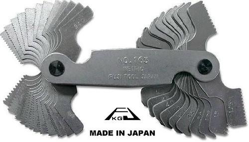Fuji Tool Screw Pitch gauge Unified 60° Pitch Gauge FT156