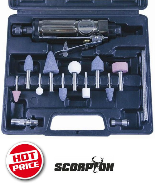 SCORPION AIR DIE GRINDER KIT SX200K