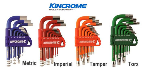 Kincrome Ultimate 36Pce Multi Hex Key Wrench Pack.