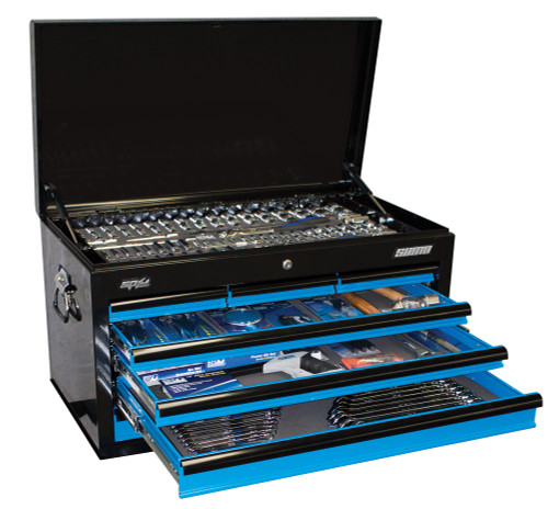 SP50171 SP Tools 376pc Metric/SAE Tool Kit in Sumo Series Tool Box Blue Black