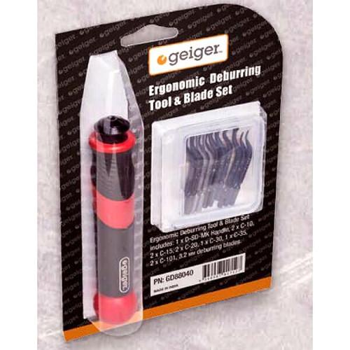 GD88040 Geiger  Ergonomic Deburring Tool & Blade Kit