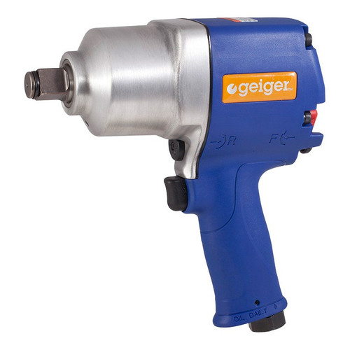 """GP3125 Geiger 3/4"""" Heavy Duty Air Impact Wrench 1100 Ft Lb"""