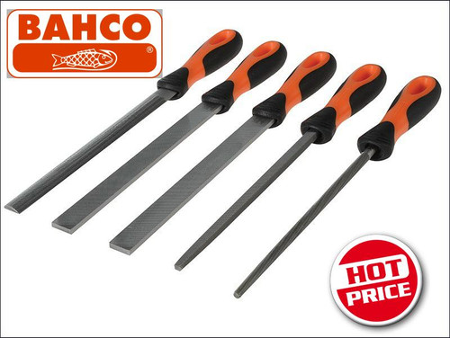 "Bahco Trade Series 5 Pce File Set 8"" 14780812."