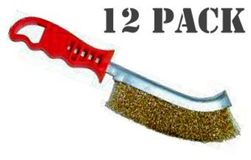 Medalist Steel Wire Brush 12 Pack.