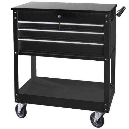 SP Tools 4 Drawer Custom Series Steel Diagnostic Trolley