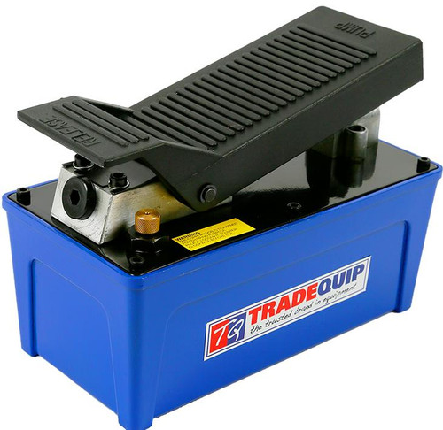 Tradequip 10,000psi Air/Hydraulic Pump