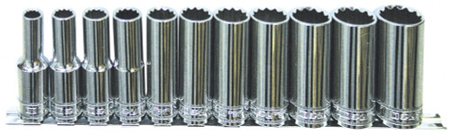 SP TOOLS 1/2DR DEEP 12POINT METRIC ON SOCKET RAIL