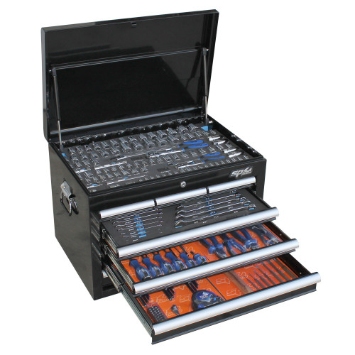 SP TOOLS 201pc Metric Only Custom Series Tool Kit