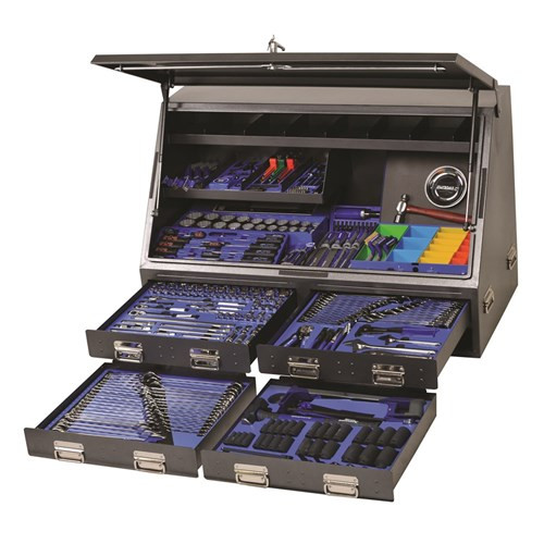 Kincrome K1257 Upright Truck Box Tool Kit 384 Piece K1257 Charcoal