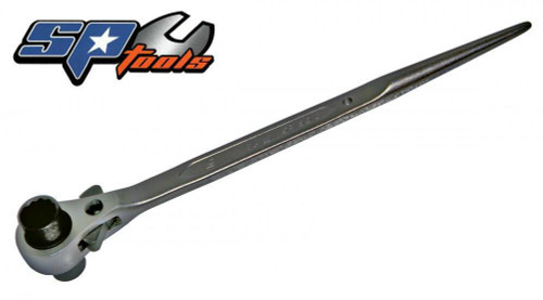 SP TOOLS RATCHET PODGER SPANNER 18 X 24mm. Clearance Price!