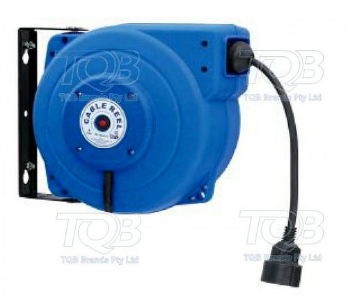 Borum Retractable 240V Extension Lead Cable Reel 15M