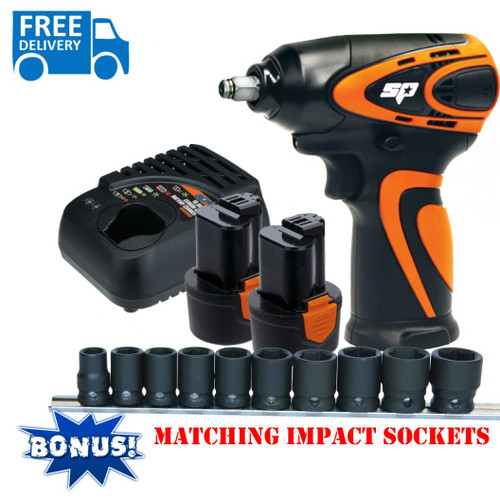 "SP Tools Max Drive Impact Wrench 3/8"" Drive."