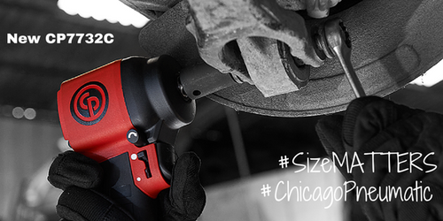 "CP7732C Chicago Pneumatic Ultra Light Compact 460 Ft lb 1/2"" Impact Wrench."