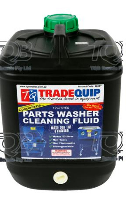 Tradequip 10Litre Parts Washer Concentrate
