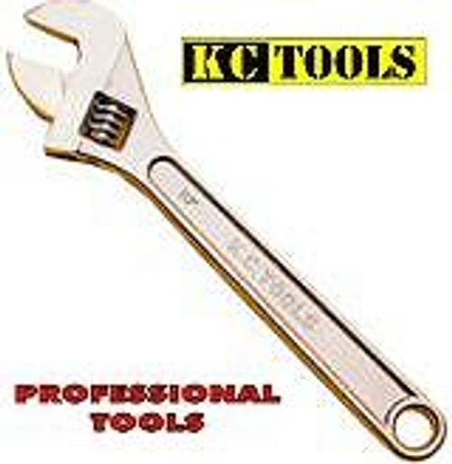 KC Tools ADJUSTABLE WRENCH 10 inch (250MM) A13030