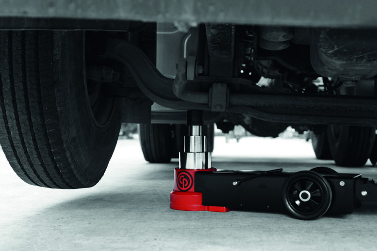 New Chicago Pneumatic Heavy Duty Air/Hydraulic Jacks Now Available 30 to 100 tons