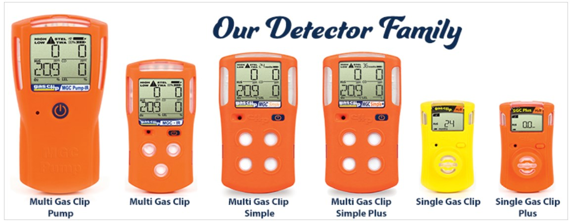 Gas Clip Gas Detectors