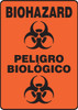 Bilingual Spanish Biohazard Sign