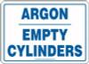 Argon Empty Cylinders