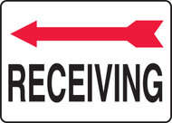 Receiving Sign- Arrow Left