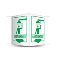 PSP603 Safety Shower Sign 3D