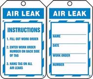 Air Leak Tag